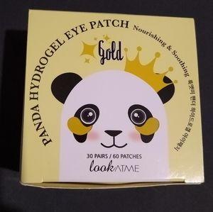 Lookatme brand panda hydrogel gokd eye patches